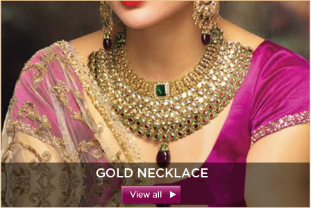 a15259201e Wedding Jewellery Collection. Wedding Collection. Gold Necklace