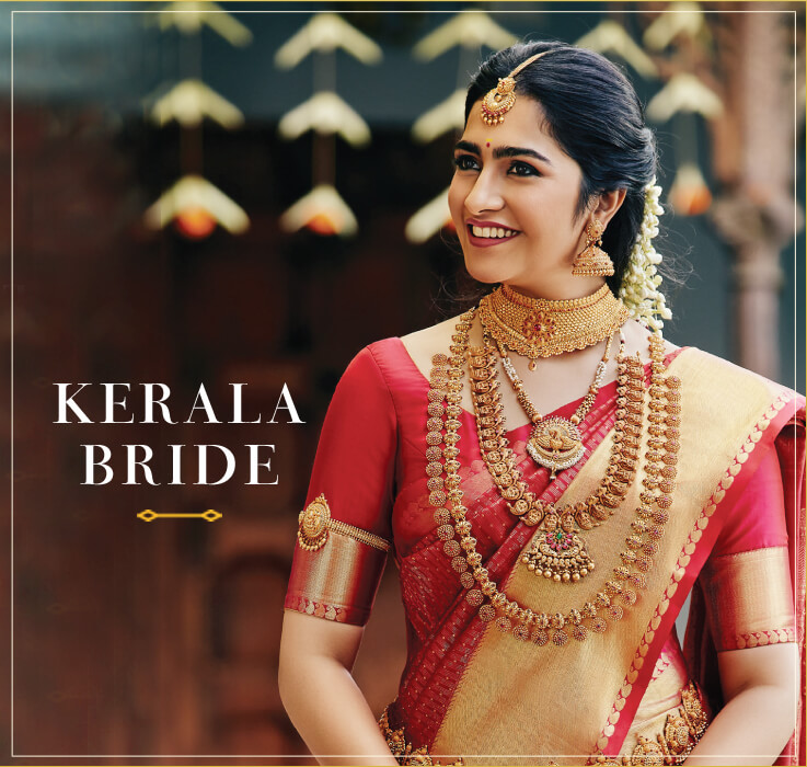 Latest Pics Of Kerala Brides: Buy Indian Bridal Jewellery Sets Online