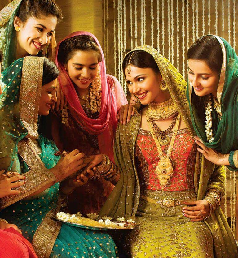 Kerala Muslim Wedding Rituals South Indian Bride Jewellery