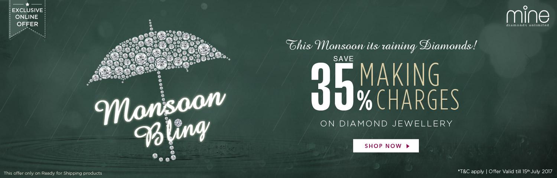 Monsoon Bling Offer