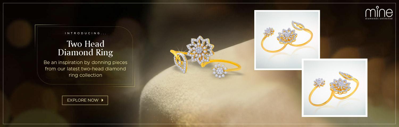 Two Head Diamond Ring