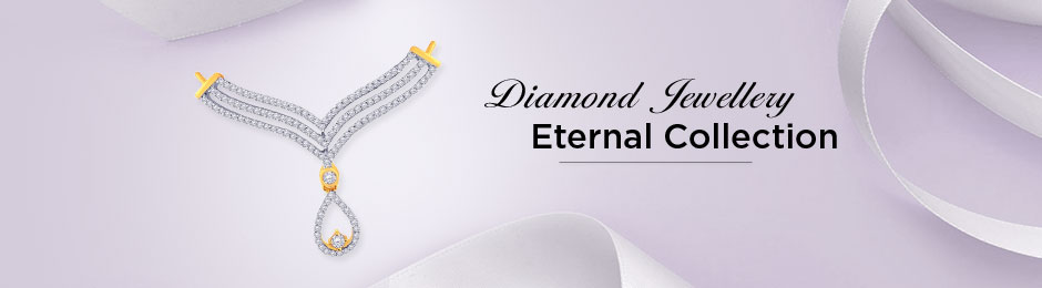 Eternal Collections Of Diamond Jewellery Online Malabar