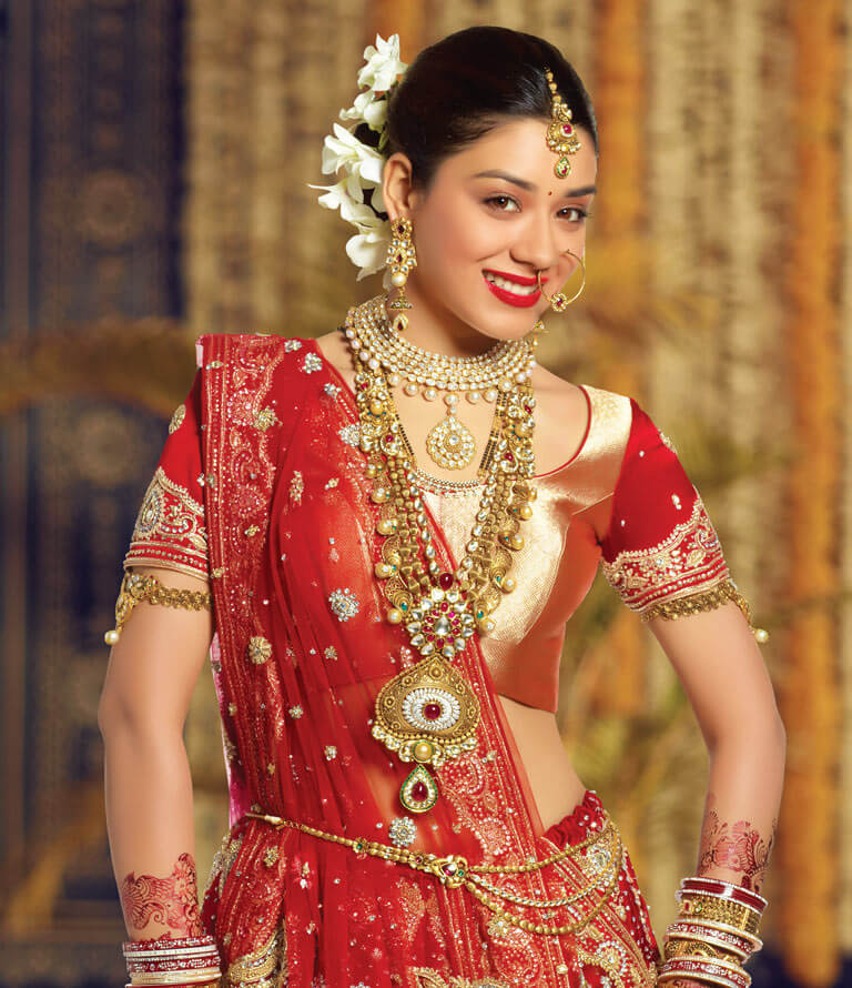 Indian Bridal Jewellery: North Indian Bridal Jewellery Online