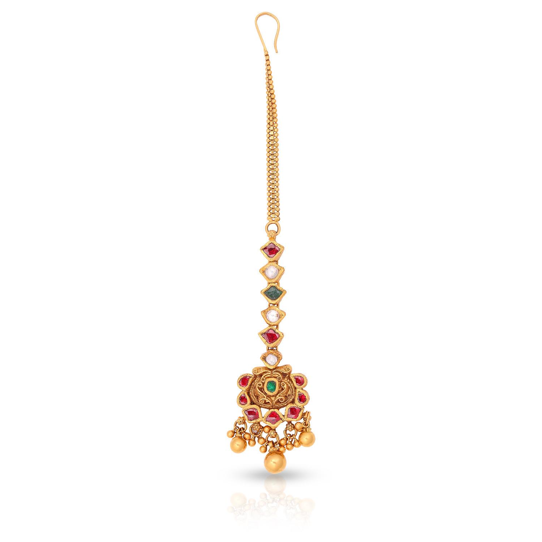 Buy Malabar Gold Maang Tikka Andaaaaaafhp For Women Online