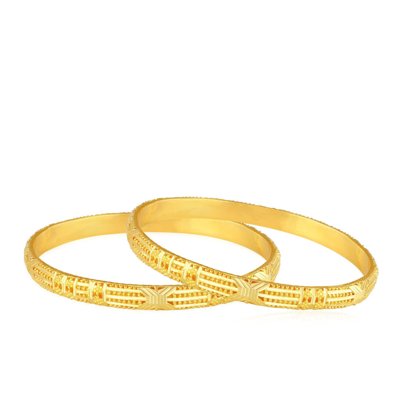 Buy Malabar Gold Bangle Set BSMHAAAAABSMPK for Women ...