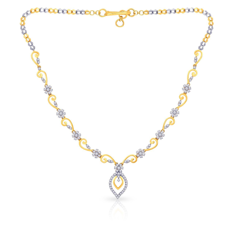 Malabar Diamond: Buy Mine Diamond Necklace KLNCN55165 For Women Online