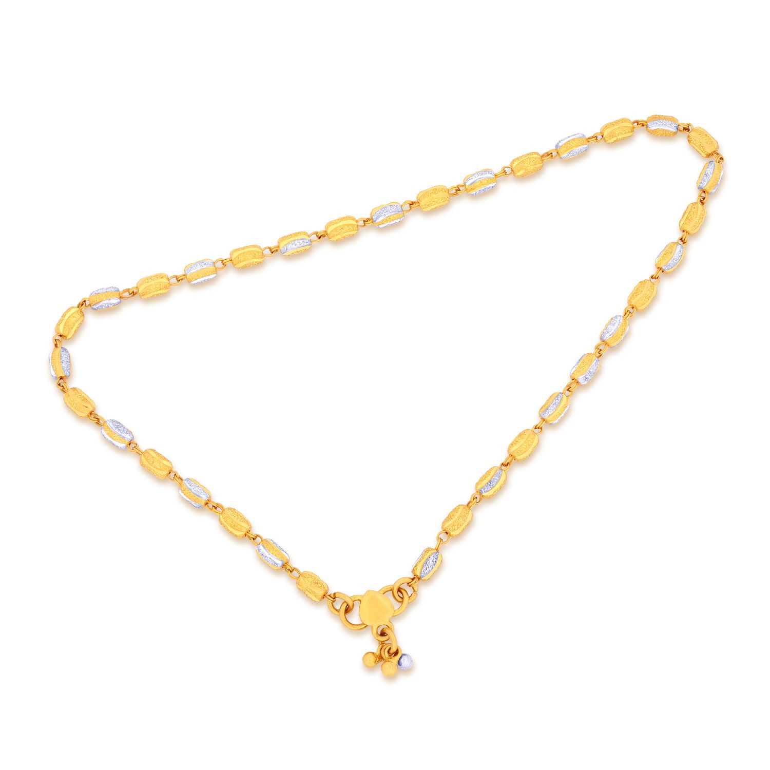 gold delicate summer original anklet product bead jewelry chain tiny bracelet simple