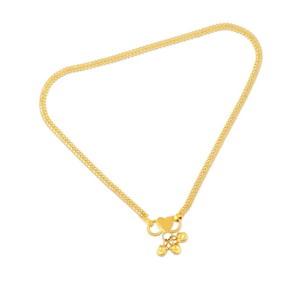 Buy Malabar Gold Anklet Mhaaaaabwpuy For Women Online