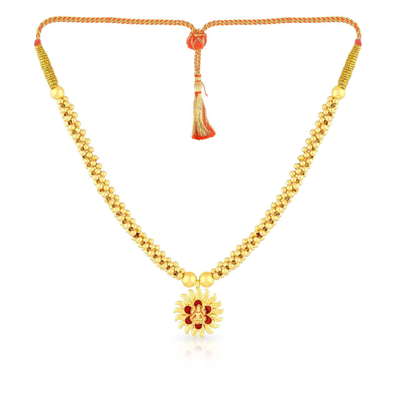 Buy Malabar Gold Necklace Nnkth001 For Women Online