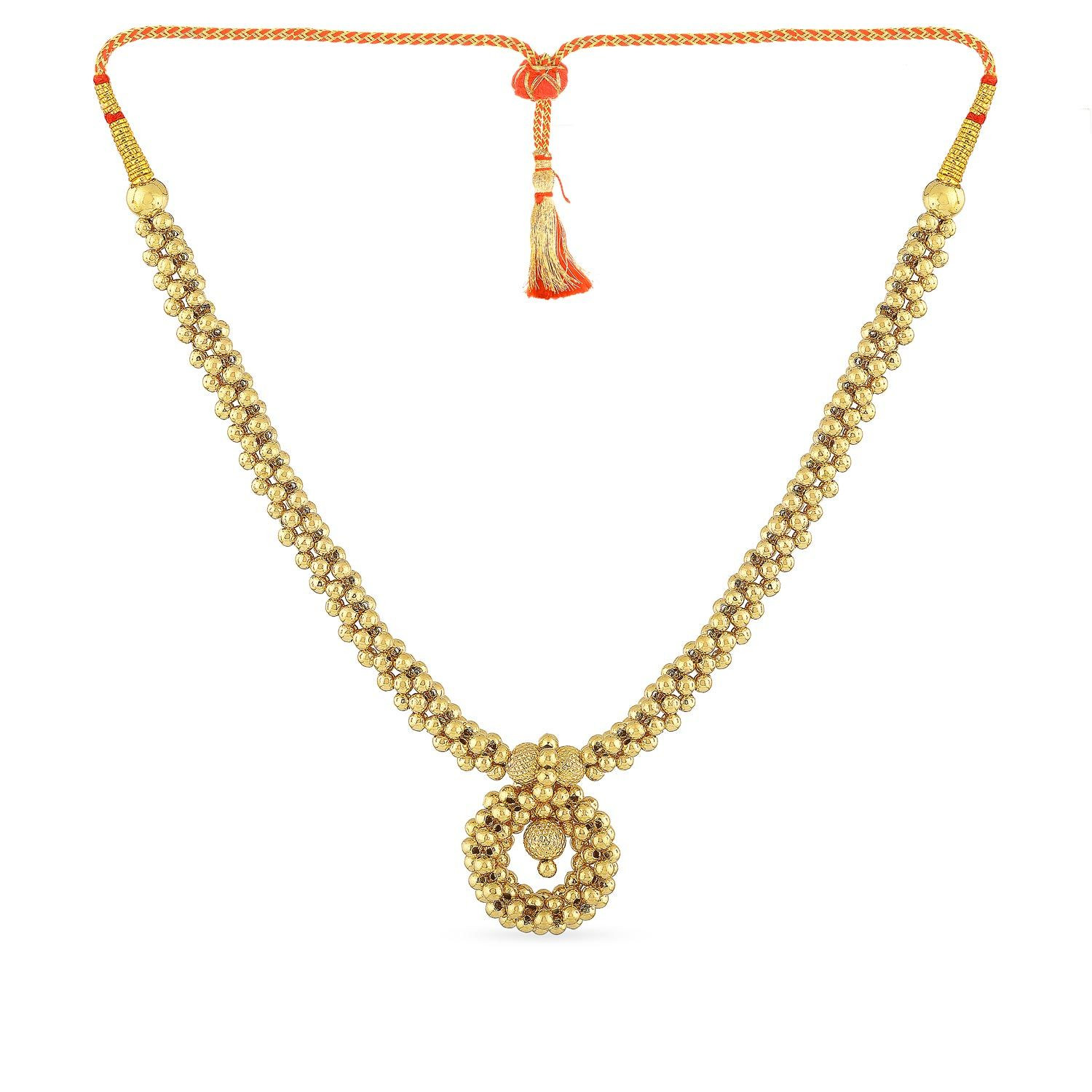 Buy Malabar Gold Necklace Nnkth070 For Women Online