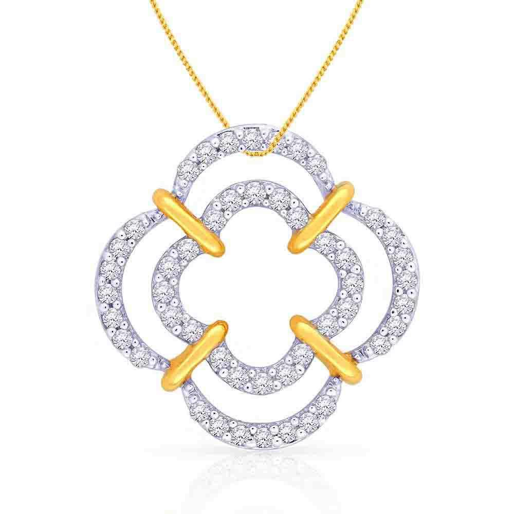 Malabar Diamond: Buy Mine Diamond Pendant P651436 For Women Online
