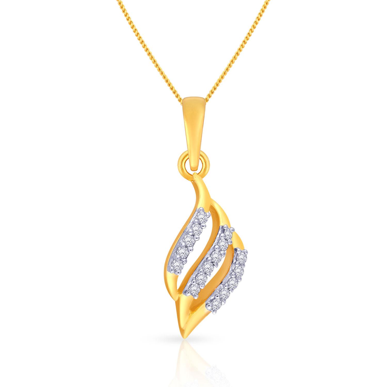 Malabar Diamond: Buy Mine Diamond Pendent P651983 For Women Online