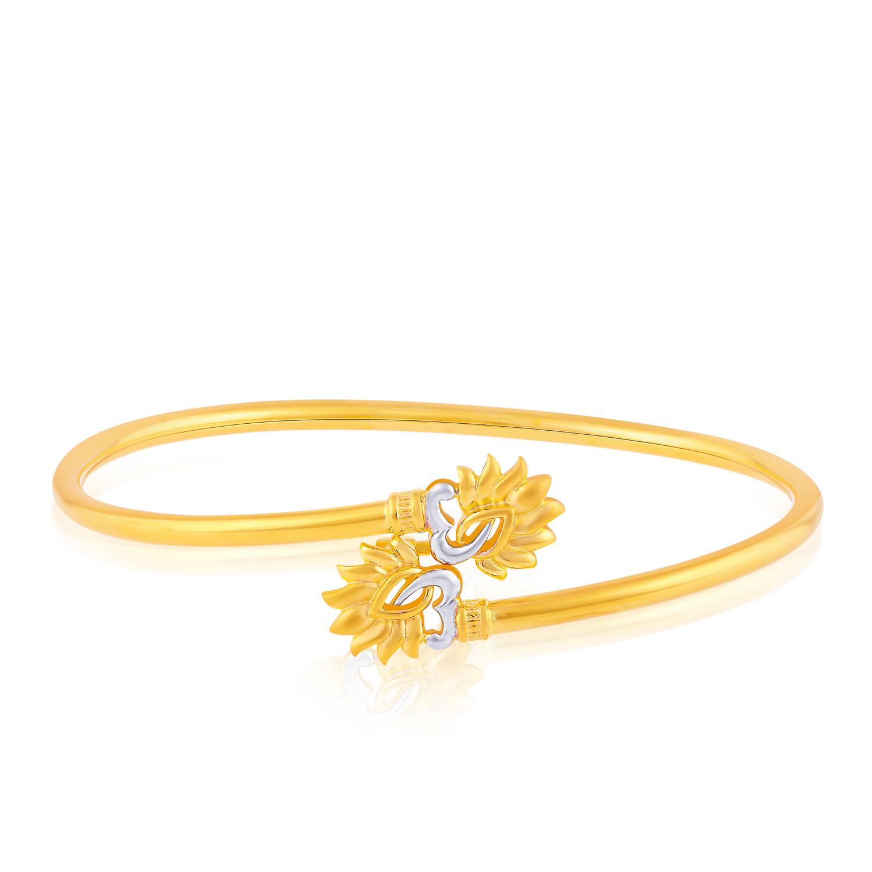 Malabar gold jewellery designs dubai - Malabar Gold Bangle Bajwaea419