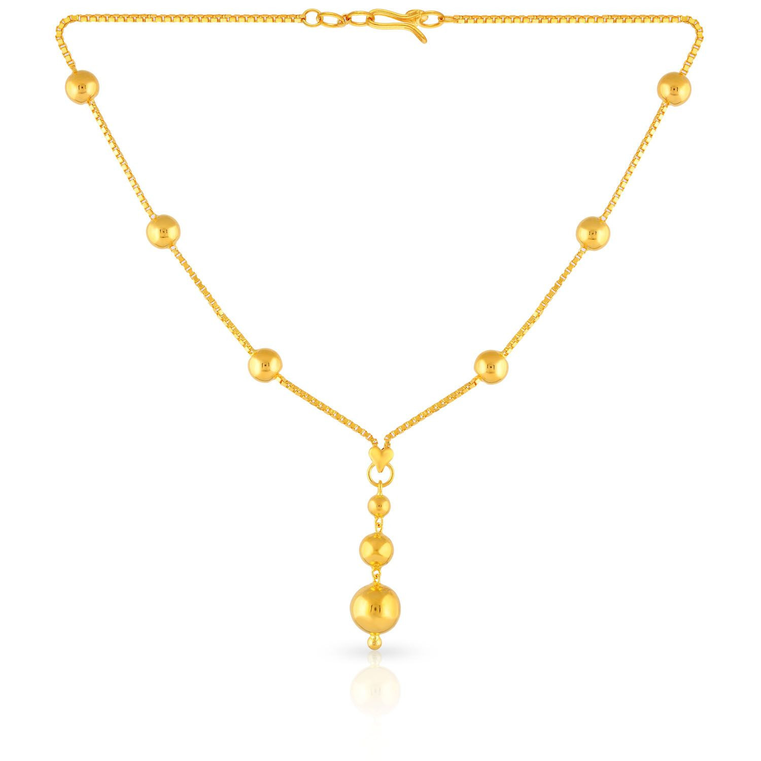 Buy Malabar Gold Necklace Nkbfmcha008 For Women Online