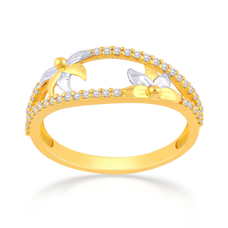 Buy Malabar Gold Ring NZR240 for Women Online | Malabar ...