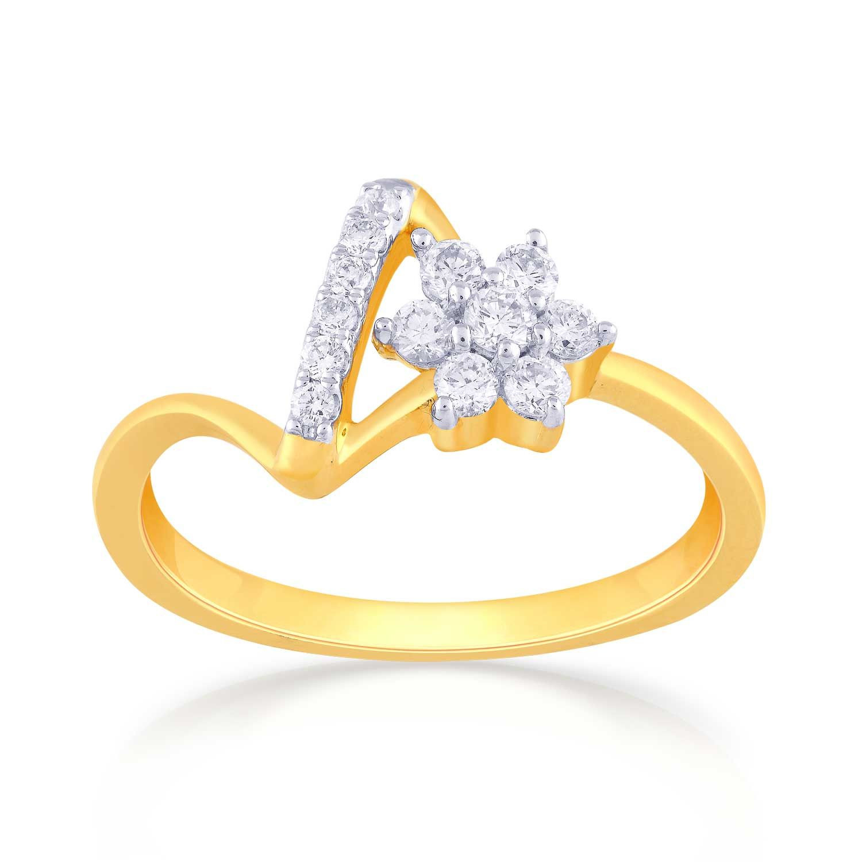 Malabar Diamond: Mine Diamond Ring RN457367 Women Online