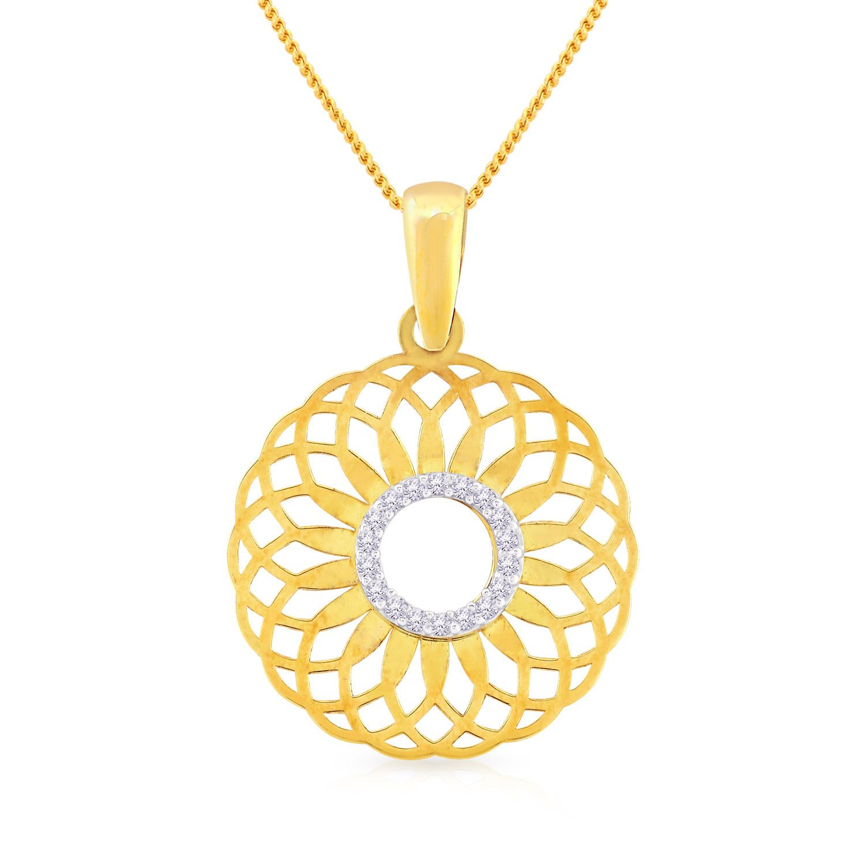 Buy Malabar Gold Pendant Pn170779 For Women Online