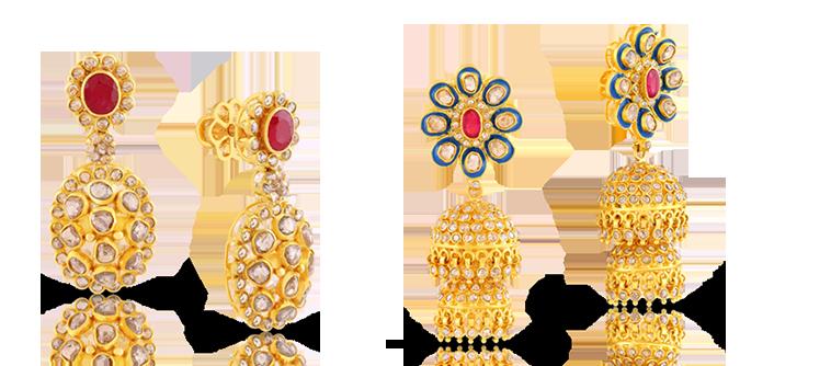 ERA Uncut Diamond Jewelry Online Malabar Gold Diamonds USA
