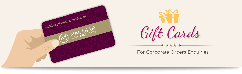 Bulk Oder of Malabar Gold & Diamonds Gift Card