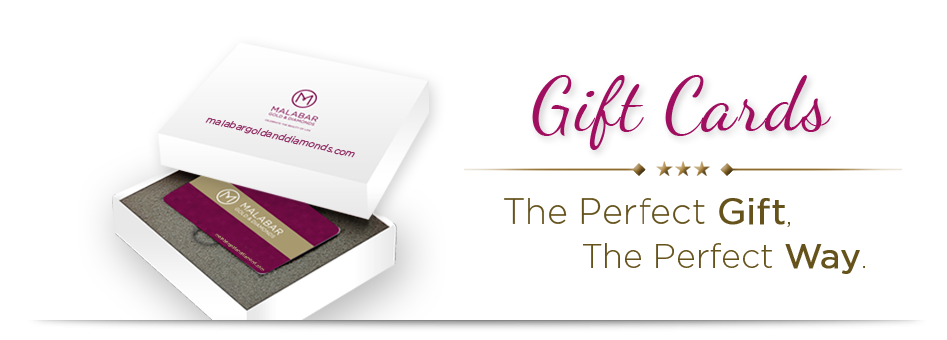Malabar Gold & Diamonds Gifts Cards