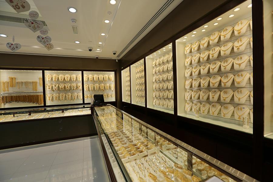 Malabar Gold & Diamonds Stores in K  M  Trading, Sharjah