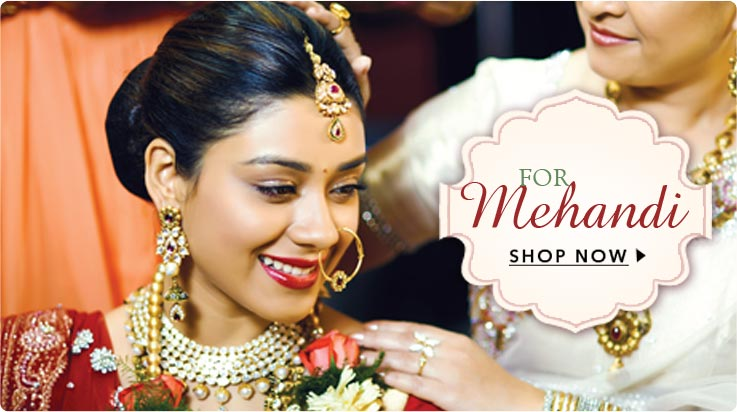 Shop For Mehandi Ceremony