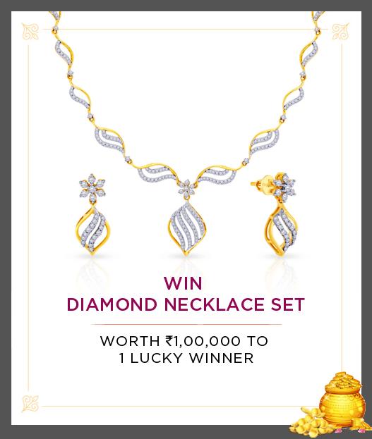 Win Diamond Necklace Set