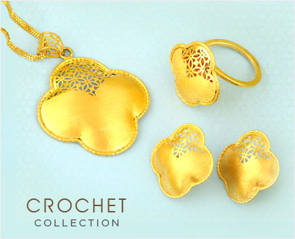 Gold Crochet Collection