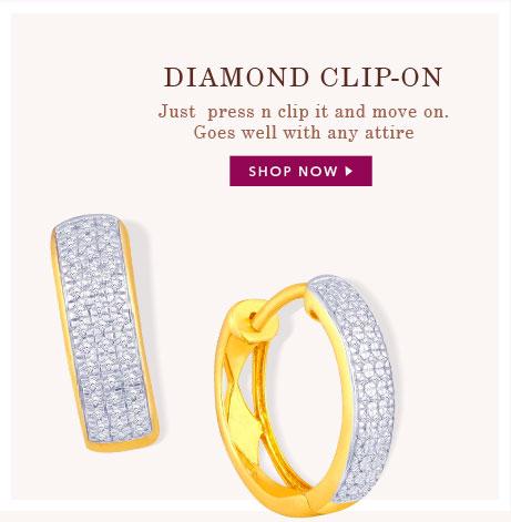 Diamond Clip-On
