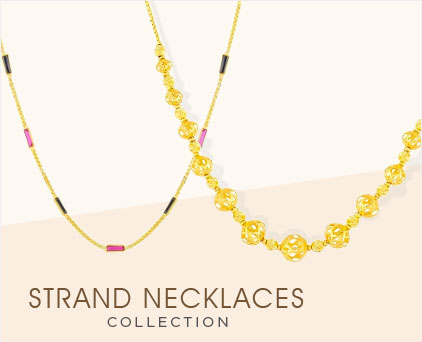 Strand Necklaces Collection