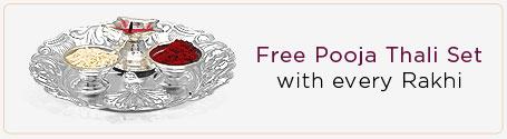 Get Free Pooja Thali
