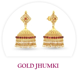 Gold Jhumki