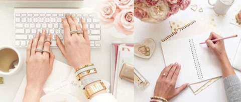 Gracefully Adorn Classic Office Jewellery