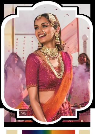 Rangoli Bride