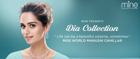 Miss World Manushi Chhillar, Launches DIA Collection