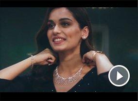 Miss World Manushi Chhillar's Beautiful Surprise - Dia Collection