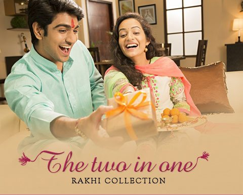 The Two in One Rakhi Collection