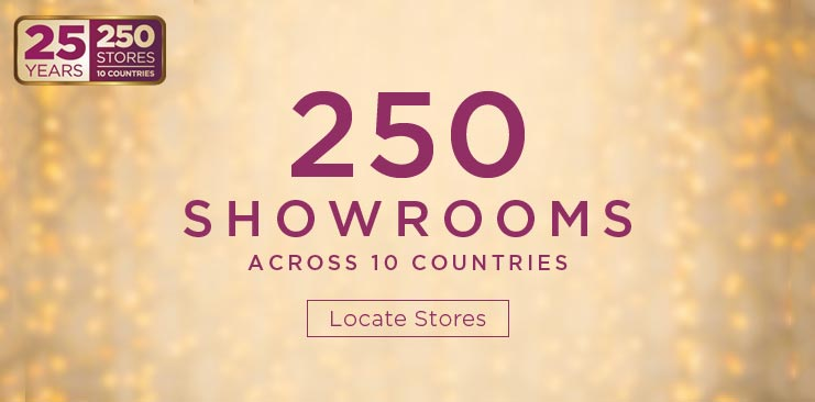 250 Showrooms across 10 Countries