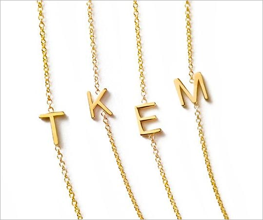 Personalised Jewellery