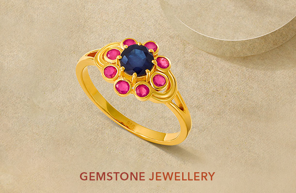 Gemstone jewery