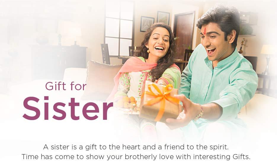 Raksha Bandhan Gifts for Sister Online