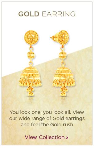 Gold Earrings Festival Offers