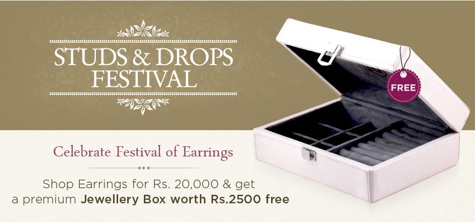Studs & Drops Festival Offer