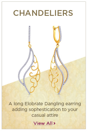 Diamond Chandeliers Earrings Festival Offers