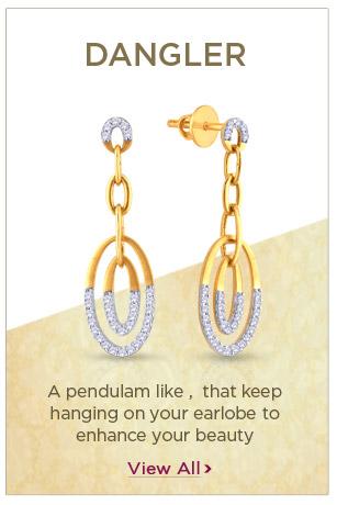 Diamond Dangler Earrings Festival Offers
