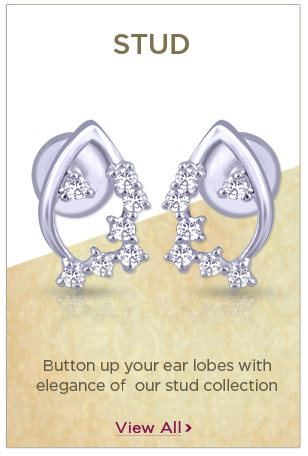 Platinum Stud Earrings Festival Offers