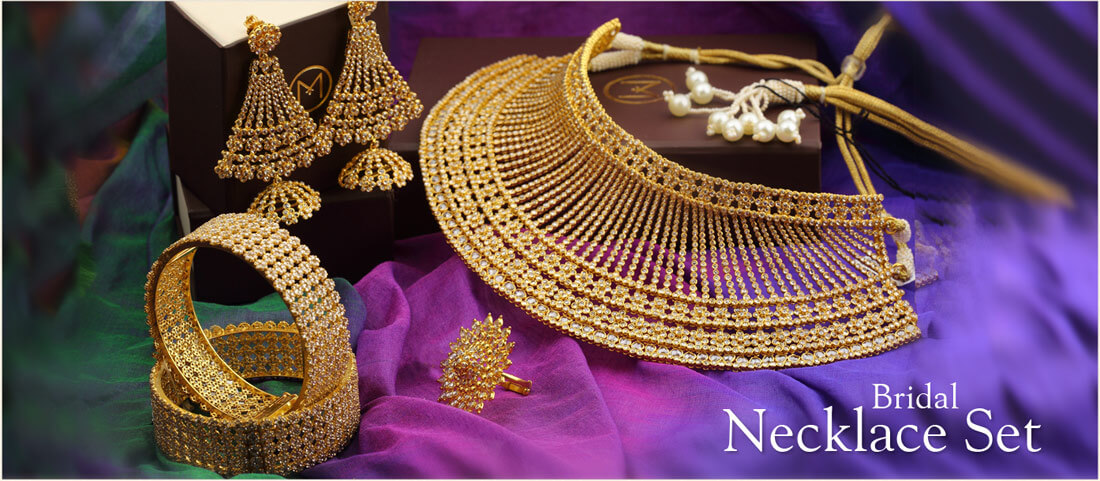 Wedding Jewellery Collections for Bride & Groom | Malabar Gold ...