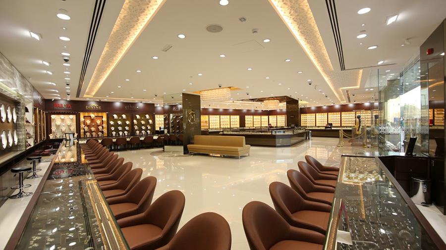 Malabar Gold & Diamonds Stores in Gold Souq II, Dubai
