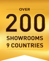 200 Showrooms 9 Countries