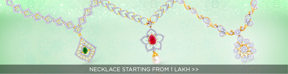 Necklace starting from 1 lakh